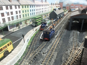 Photo: 015 The railway station at Porth-y-Castell. Unfortunately during the period of my visit to this attractive layout, there were first day glitches in the form of a voltage issue, but as I wasn't trying to make a video, that suited me fine, any blurred images would however be entirely my own fault !