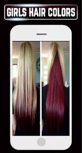 Girls Hair Color Shades Ideas Highlight Hairstyles - náhled