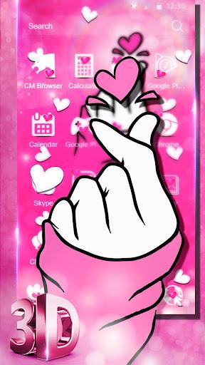 Glamorous Pink Love Sign screenshots 3