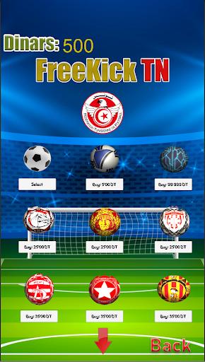 Freekick Tunisia Football League screenshot 2