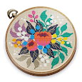 Cross Stitch Club — Color by Numbers with a Hoop apk