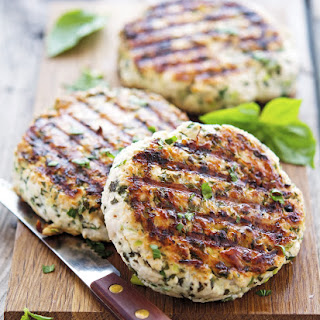 Green Goddess Turkey Burgers.