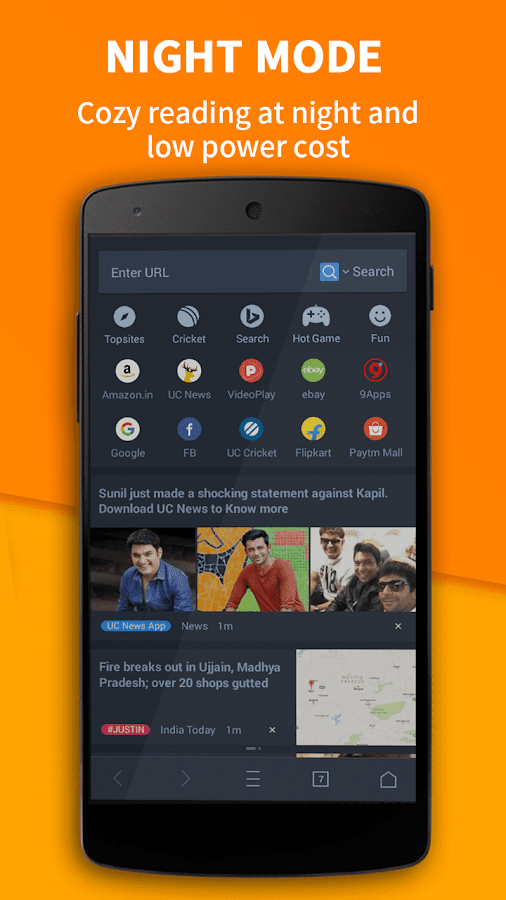UC Browser - Fast Download Private & Secure- screenshot