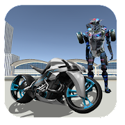 Police Moto Robot Transformer