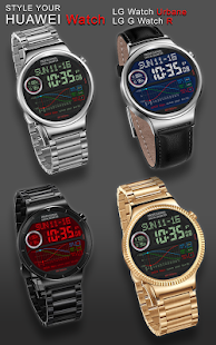 V01 WatchFace for Android Wear- screenshot thumbnail