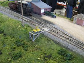 Photo: An old pump car waits near the Hornby Mill siding.