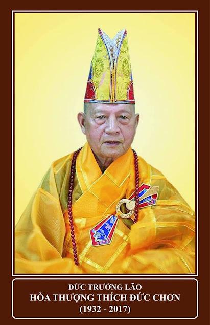 Cáo bạch Đức Trưởng Lão Hòa Thượng thượng Đức hạ Chơn tân viên tịch