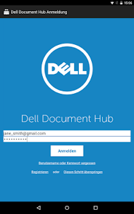 Dell Document Hub – Miniaturansicht des Screenshots