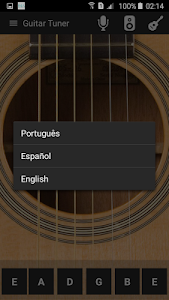 Guitar tuner screenshot 4