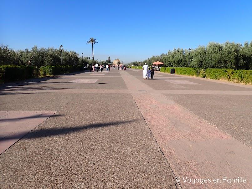 Jardins Menara Marrakech