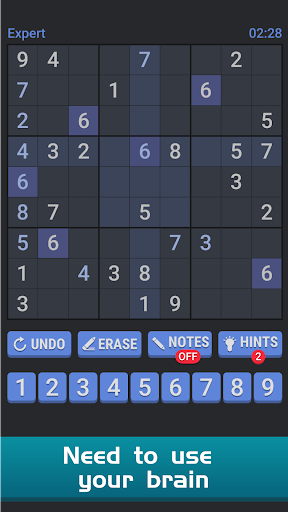 Sudoku Free Puzzle - Offline Brain Number Games 3.1 screenshots 2