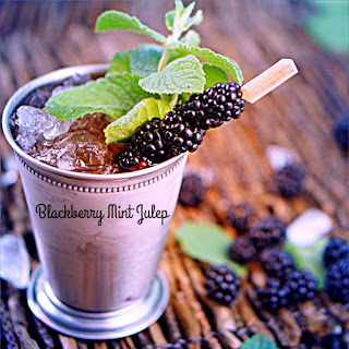 Blackberry Mint Julep.