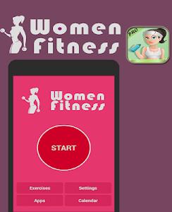 fitness for women : workout screenshot 0