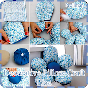 Decorative Pillow Craft Idea icon