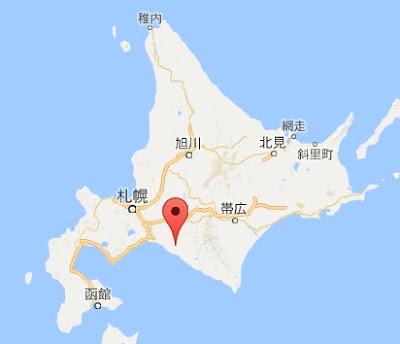 地図:平取町