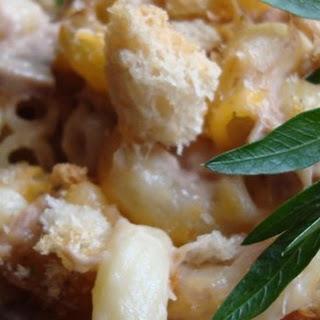 Cheese Lover's Tuna Casserole.