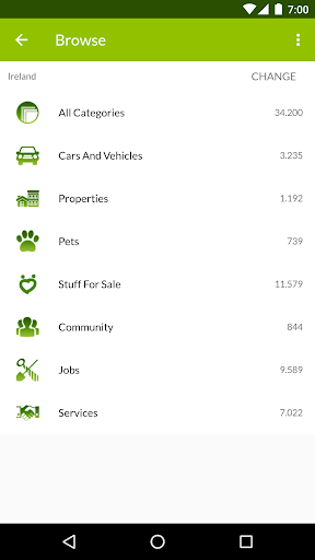 Gumtree Ireland – Buy and Sell screenshot 1