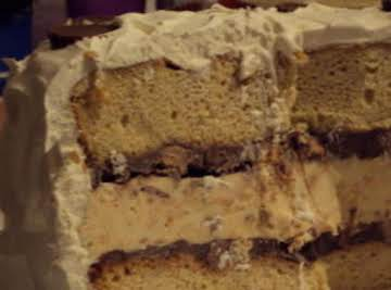 Peanut Butter Ice Cream Cake