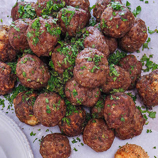 Meatballs with Mint and Garlic.
