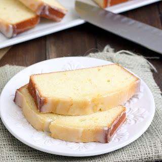 Meyer Lemon Pound Cake.