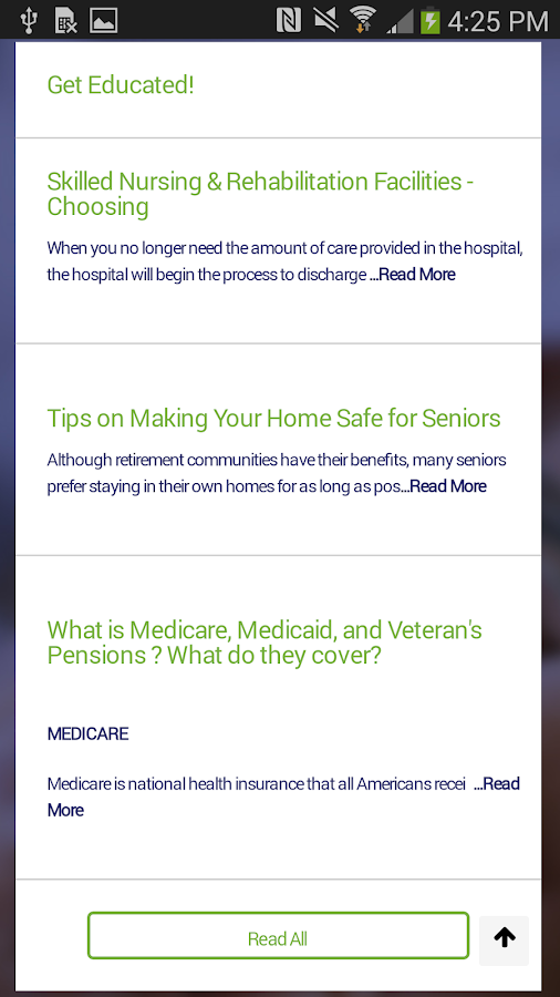 Senior Living Resolutions- screenshot