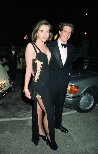 Elizabeth Hurley, 'Four Weddings and a Funeral' Premiere
