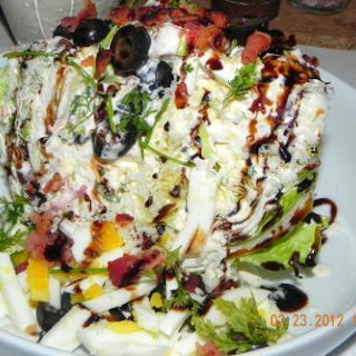 The Dazzling Wedge Salad