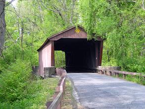Photo: Jericho Covered Bridge at Jerusalem Mill Village, inGunpowder Falls State Park