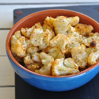 Cajun spiced Roasted Cauliflower