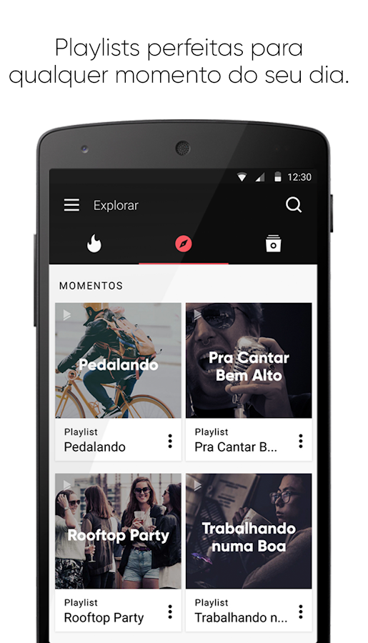 Superplayer Music Playlists: captura de tela