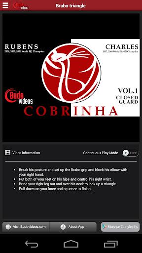 Cobrinha BJJ V1 - Closed Guard