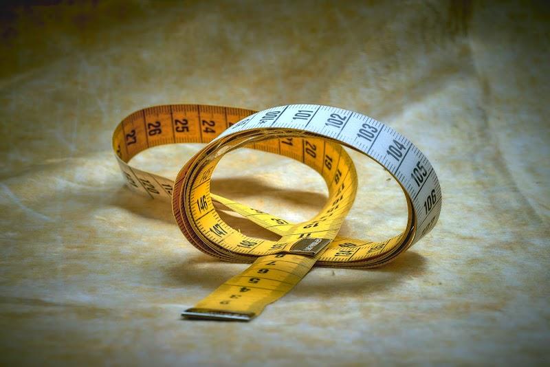 自分の体のサイズを調べてそれを覚える