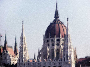 Photo: Parlament zza Dunaju 3 - pastel