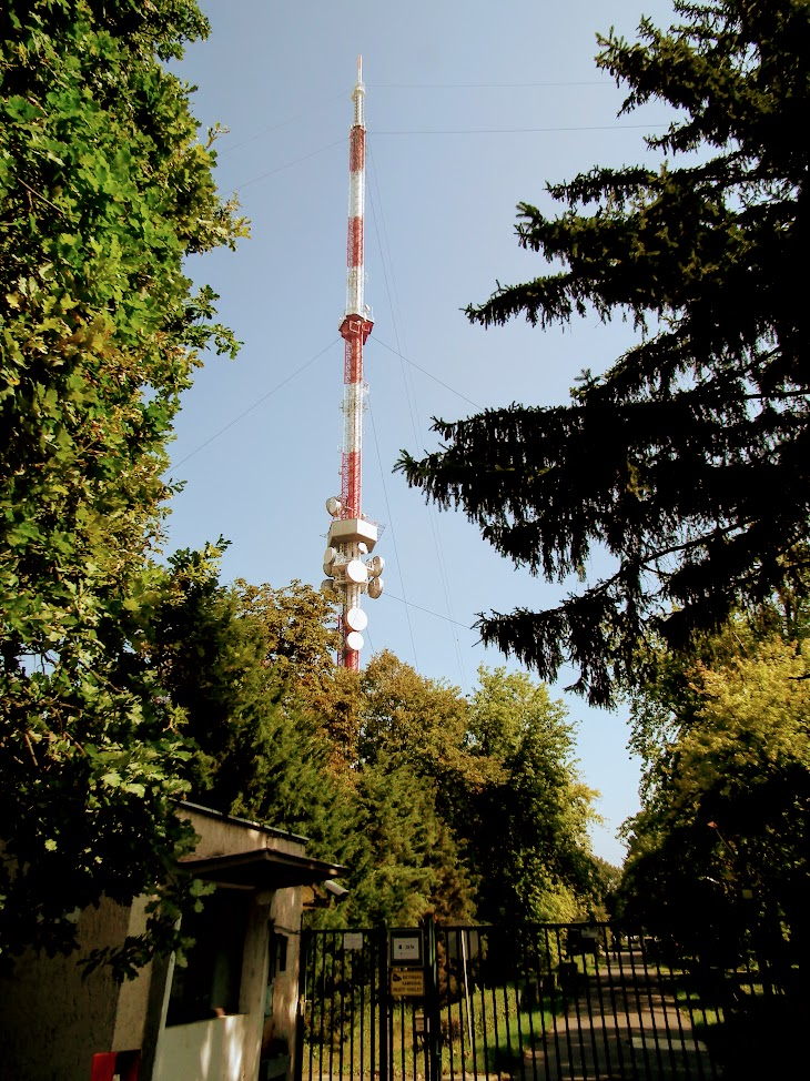 Szentes - TV-URH gerincadó állomás