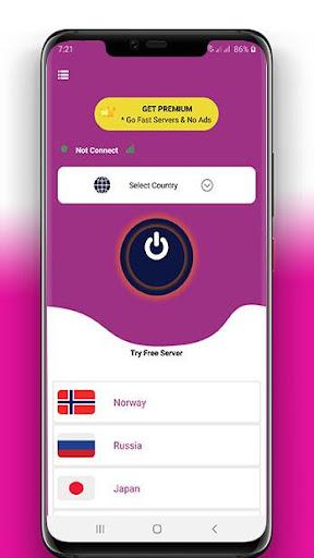 VPN For PUBG Mobile -PUB VPN-Best  skiins- screenshot 2