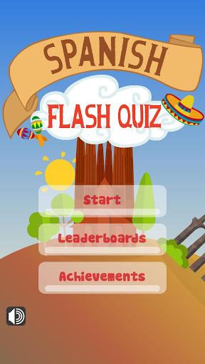 Spanish Vocabulary Flash Quiz