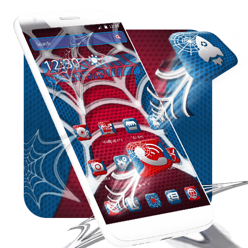 Spider Hero Theme app (apk) free download for Android/PC/Windows