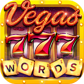 Vegas Words - Downtown Slots icon