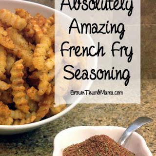 Amazing French Fry Seasoning.