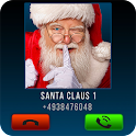 Fake Call Santa Joke icon