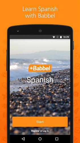 Babbel – Learn Spanish Android App Screenshot