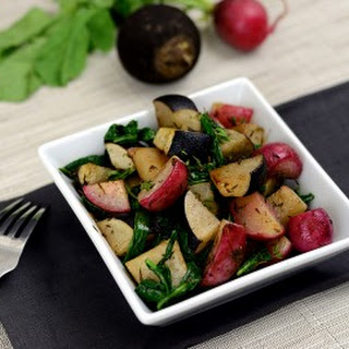 Farm Share Friday - Roasted Black and Red Radishes