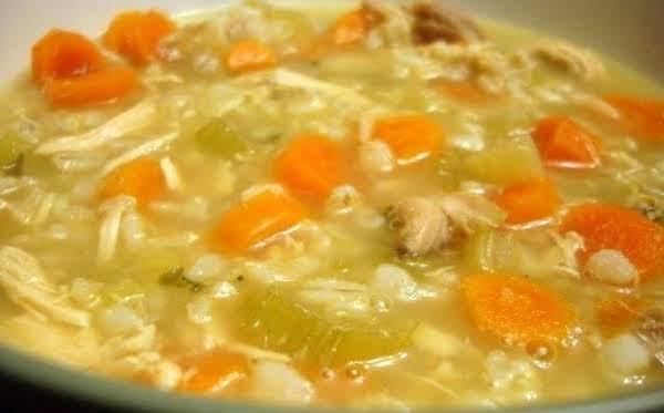 Thanksgiving Turkey Noodle Soup