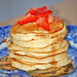 Cream Cheese Pancakes.