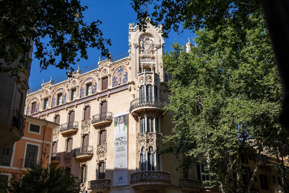 Palma de Mallorca, secesyjne kamienice