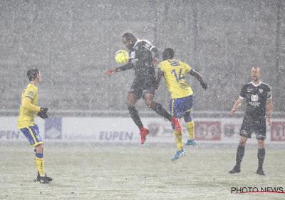 Eerste helft in de sneeuw, maar volledige match was maat voor niets, STVV blijft wel in top zes