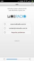 Screenshot of Rádio Evangelizar AM 1060