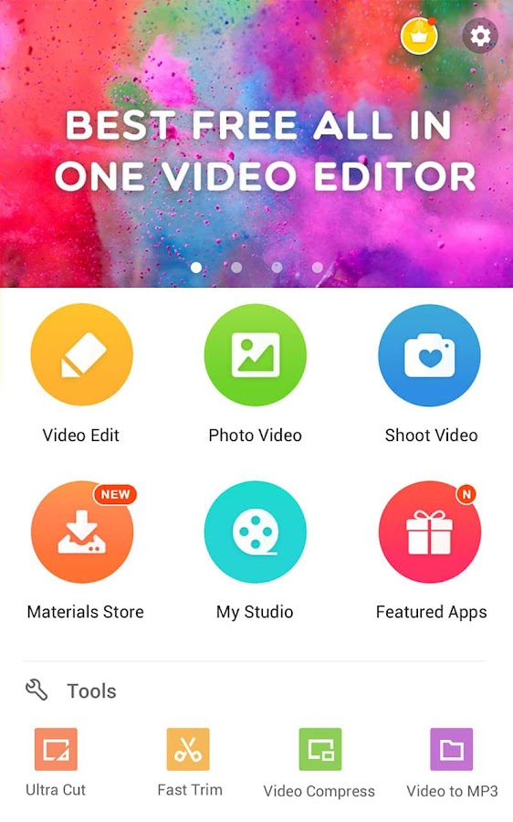 VideoShow- Video Editor, music- screenshot