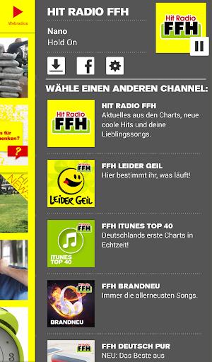 HIT RADIO FFH screenshot 1