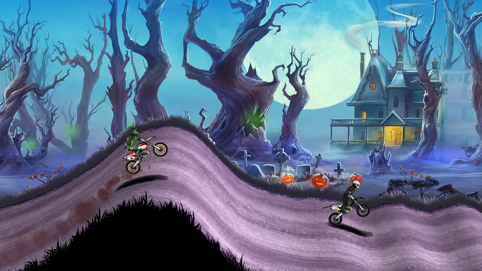 Screenshots of Mad Skills Motocross 2 for iPhone